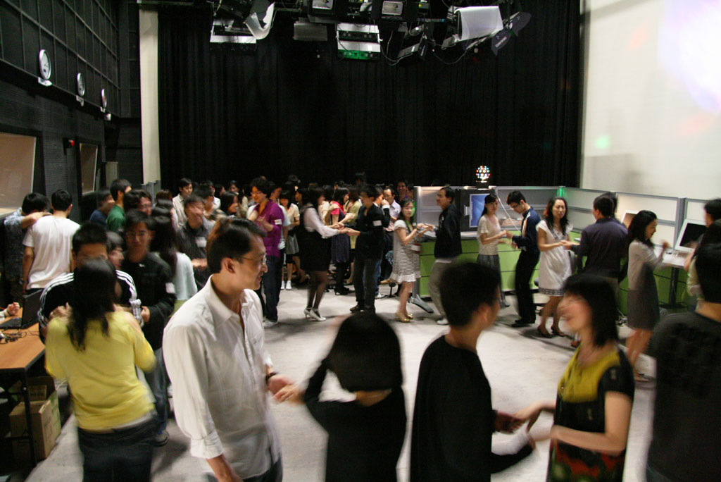 2007.4.5 Dancing Party in HKBU