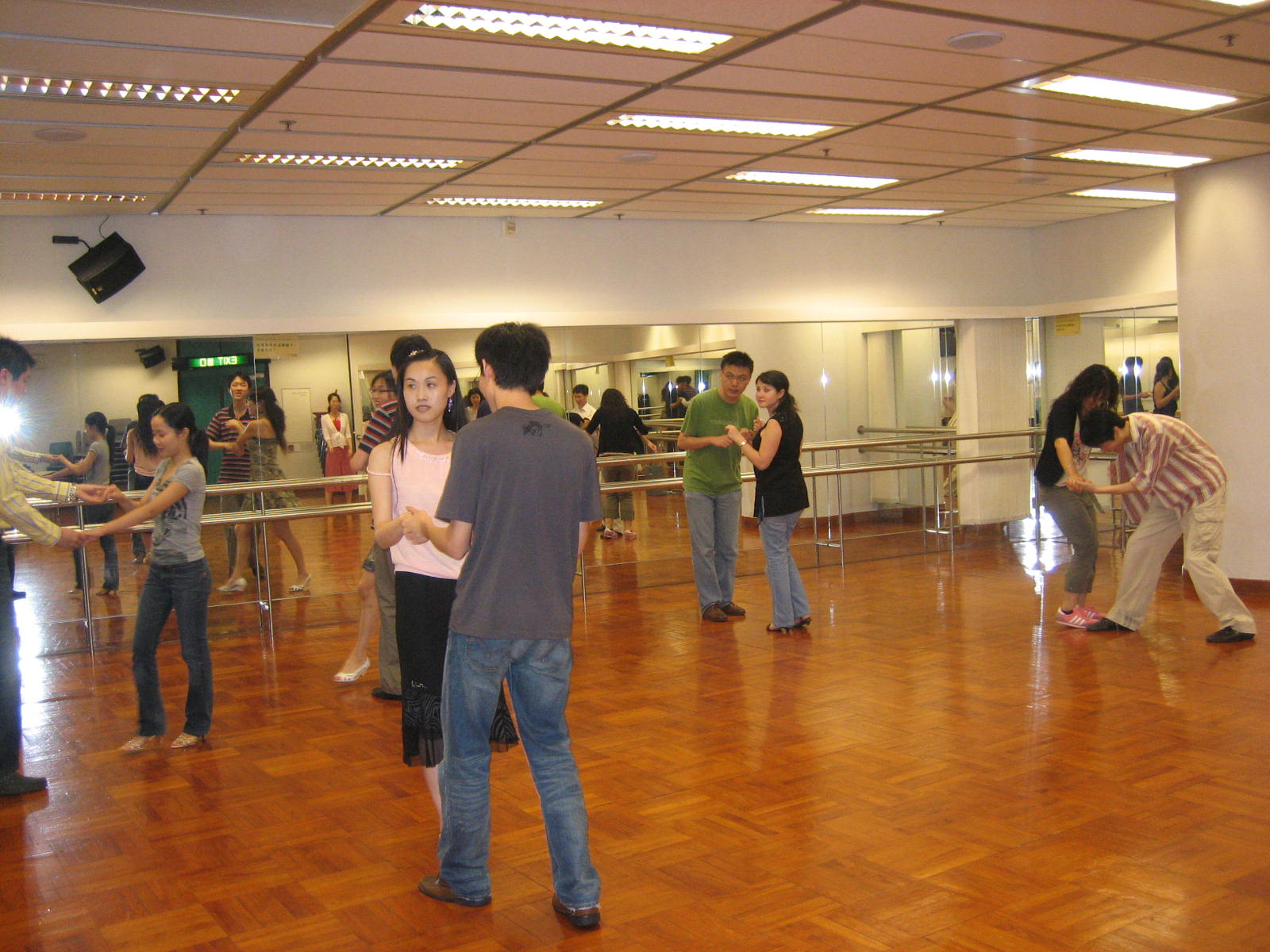 2007 spring semester second-round salsa beginner's class