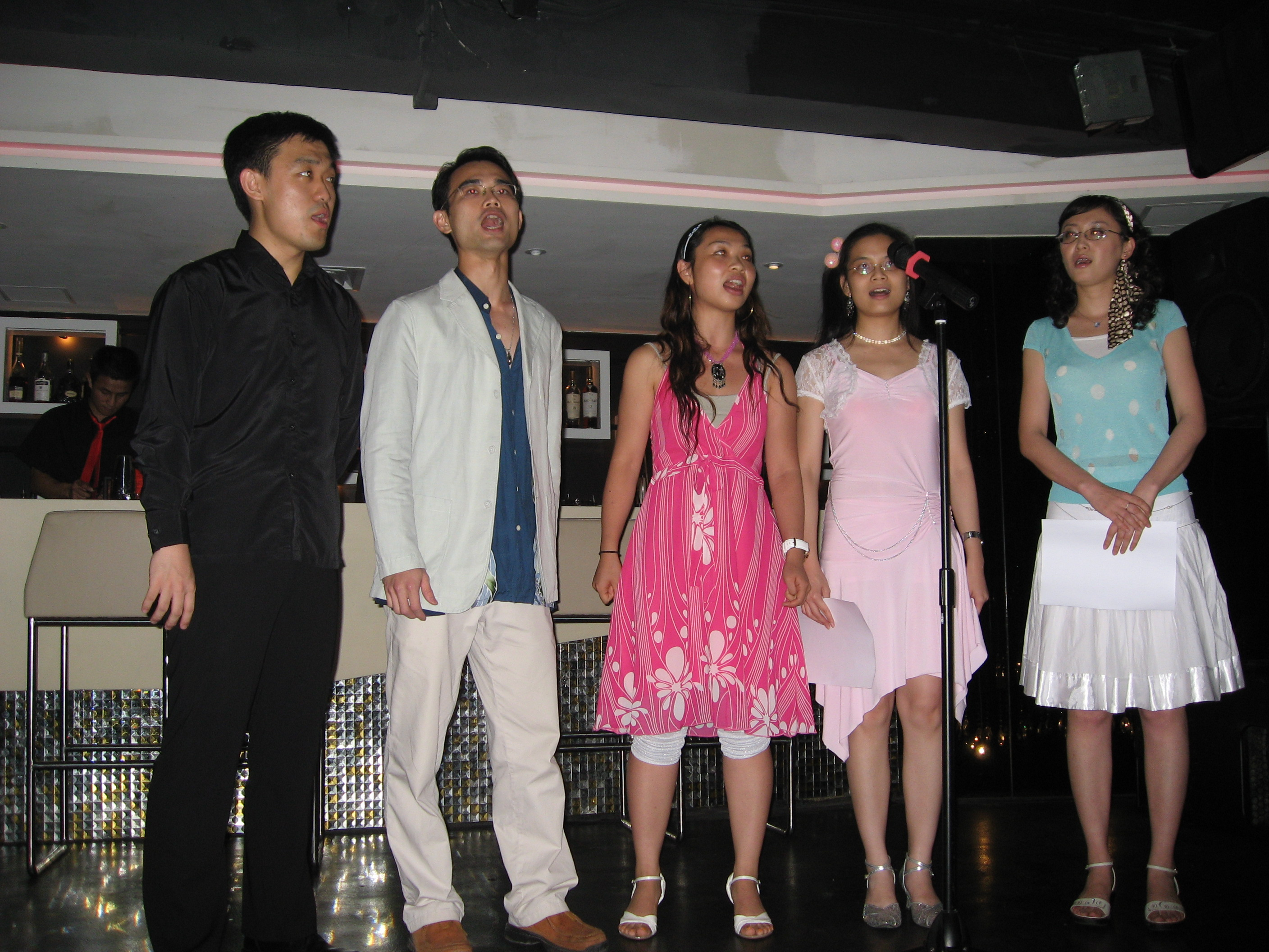 2007.9.23 performance in Lam Kui Fong