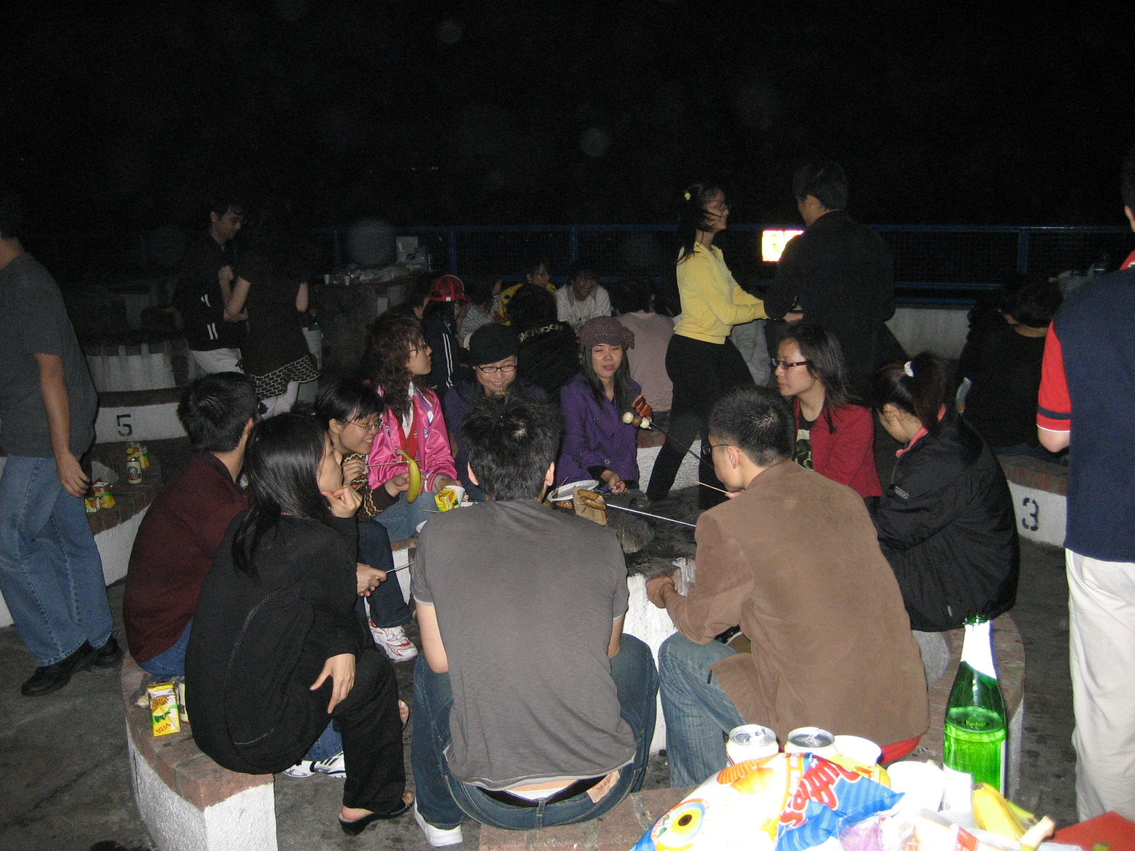 2007.12.01 seafront BBQ